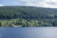 On Lake Titisee Royalty Free Stock Photography
