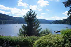 The Lake Titisee in the Black Forest Stock Photography