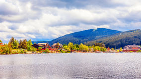 Lake Titisee in Germany Stock Images