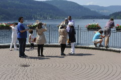 Lake Titisee, Germany Stock Images