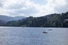 On Lake Titisee Stock Photography