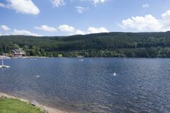 On Lake Titisee Royalty Free Stock Photo