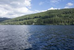 On Lake Titisee Royalty Free Stock Images