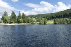 On Lake Titisee Royalty Free Stock Image
