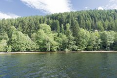 On Lake Titisee Royalty Free Stock Photos