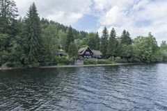 On Lake Titisee Stock Photo