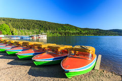 Lake Titisee Neustadt in the Black Forest. Stock Image