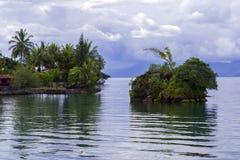 Lake Toba Blossoming Islands. Stock Image