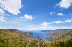 Lake toba or danau toba Royalty Free Stock Photos