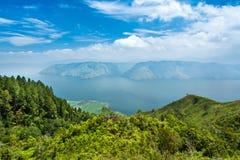 Lake toba or danau toba in North Sumatra Stock Images