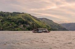 Lake Toba ferry in Sumatra, Indonesia Stock Photography