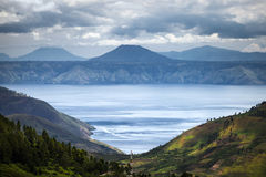 Lake Toba in Indonesia, largest volcanic lake in the world Stock Image