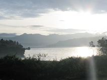 Lake Toba Royalty Free Stock Photo