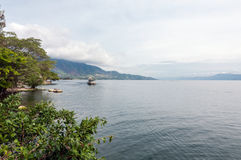 Lake Toba North Sumatra Royalty Free Stock Images