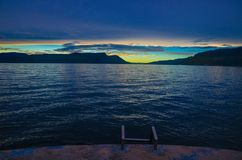 Lake Toba, North Sumatra, Indonesia royalty free stock photography