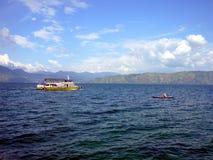 Lake Toba Sumatra Indonesia Stock Image