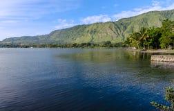 Lake Toba in Sumatra, Indonesia Royalty Free Stock Images