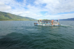 Lake toba Vacation, Indonesia Royalty Free Stock Photo