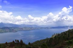 Lake Toba View. Royalty Free Stock Photo