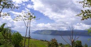 Lake Toba View. Stock Images