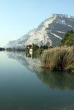 Lake Toblino Stock Photo