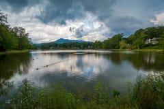 Lake Tomahawk, in Black Mountain, North Carolina.