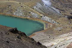 Lake in Tongariro National Park Royalty Free Stock Photography