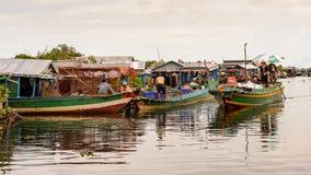 Lake Tonle Sap, Cambodia Stock Images