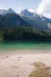 Lake Tovel, Royalty Free Stock Image
