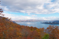 Lake Towada in Aomori Royalty Free Stock Photos