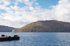 Lake Towada in Aomori Stock Photo