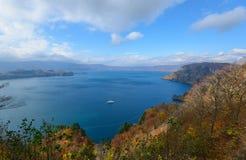 Lake Towada in Autumn, in Aomori and Akita, Japan Stock Photo
