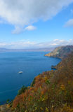 Lake Towada in Autumn, in Aomori and Akita, Japan Stock Images