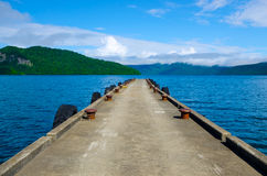Lake Towada, Japan. Royalty Free Stock Image