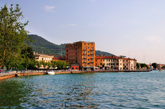 Lago di Iseo, Italy Royalty Free Stock Photo