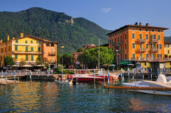 Town of Iseo, Italy Royalty Free Stock Photography