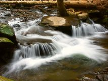 Lake Trahlyta Falls Georgia Royalty Free Stock Images