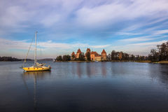 Lake of Trakai, Lithuania Royalty Free Stock Photo