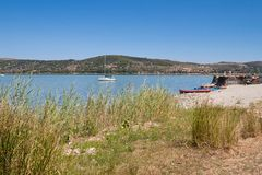 Lake Trasimeno Stock Image