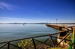 Lake Trasimeno, Italy Stock Images