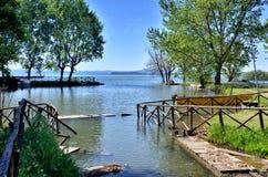Lake Trasimeno, Italy Stock Photo