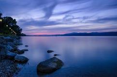 Lake Trasimeno (Umbria Italy) Royalty Free Stock Images