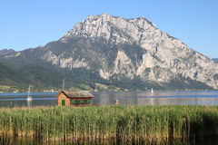 Lake Traun Royalty Free Stock Images