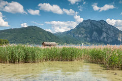 Lake Traunsee in Austria Stock Photo