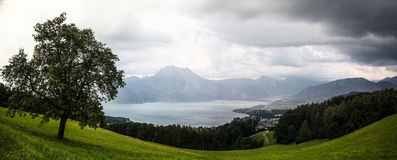 Lake Traunsee - Austria Stock Photo
