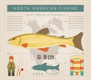 Lake Trout Royalty Free Stock Photography