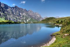 Lake in Trubsee Stock Images