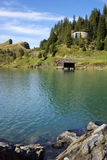 Lake Trubsee, Engelberg, Switzerland Royalty Free Stock Photos