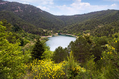 Lake Tsivlos Royalty Free Stock Images