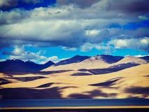Lake Tso Moriri, Ladakh Royalty Free Stock Photography